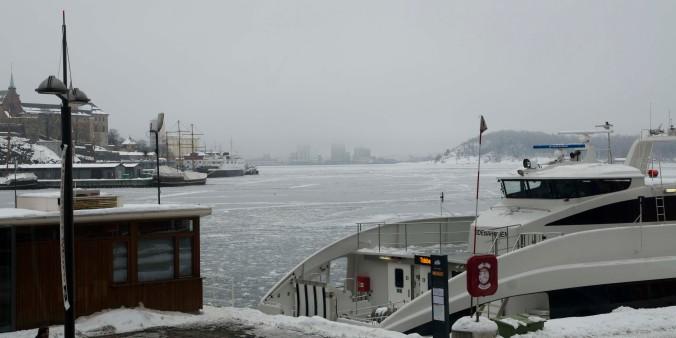 A bit gloomy Oslo coast